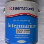 Antiincrustante Intermarine INTERNATIONAL  Cód: 680 Antiincrustante monocomponente de matriz soluvel e média performance. Embalagem: galão 3,6litros