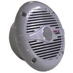"""Alto falante marinizado, impermeável, com diâmetro de 6,5"""" em policarbono de alta resistência a raios UV e potência de 200 W RMS"""